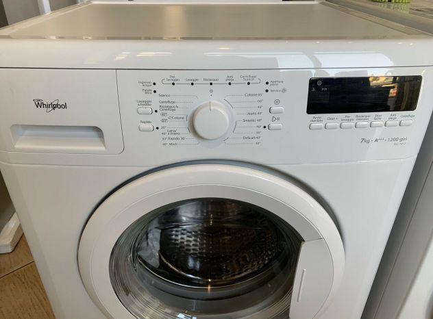 Lavatrice whirlpool 7 kg, 1200 g/min, a+++, garanzia 12 mesi