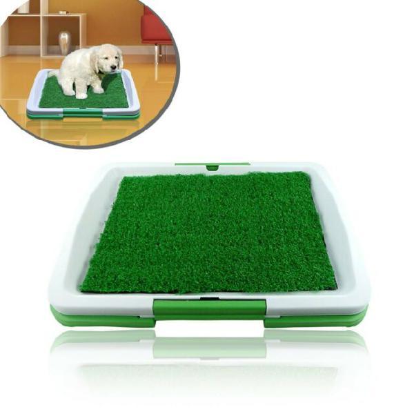 Lettiera 47 x 34 x 6 cm erba sintetica per animali domestici