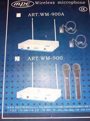 Microfono wireless- usato. funzionante-svendo per trasloco a