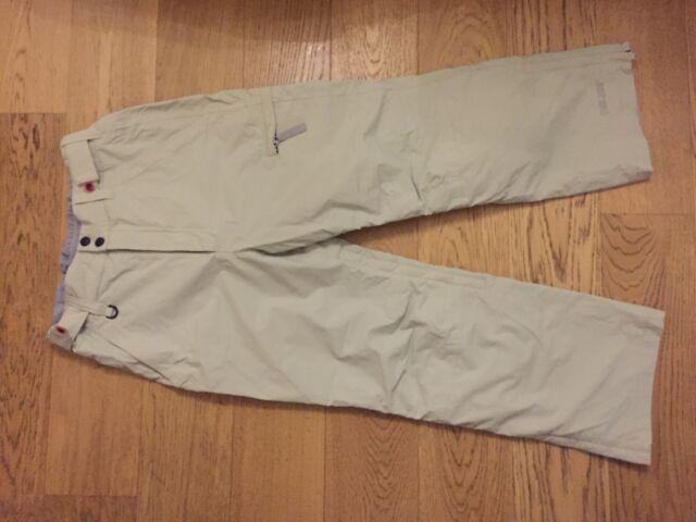 Pantaloni snowboard sci palmer unisex colore neutro 46 48