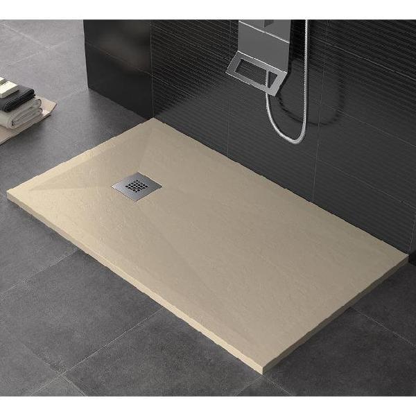 Piatto doccia 90x160 cm in pietra maier dharma crema