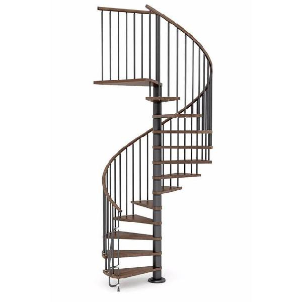 Scala a chiocciola in legno 㸠120 cm 11 scalini mobirolo