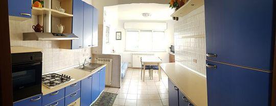 Affitto appartamento con terrazzo panoramico a borghetto
