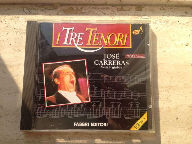 CD i tre tenori josé Carreras fabbri