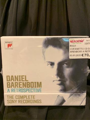 Cofanetto cd daniel barenboim a retrospective sony