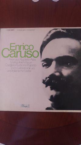 """Lp 33 giri di Enrico Caruso """"Dacapo"""""""