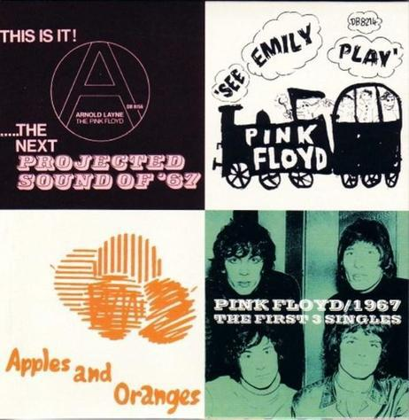 Pink floyd - 1967 / the first 3 singles