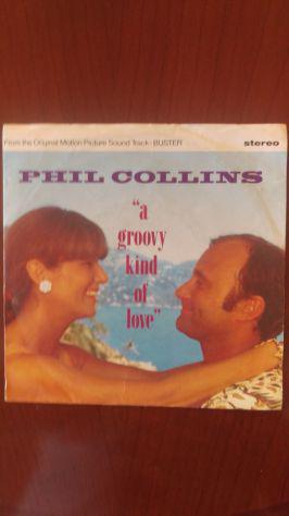 """Vinile 45 giri Phil Collins """"Agroovy kind of love"""""""