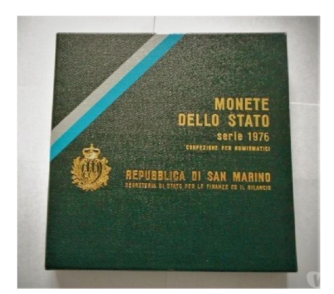 San marino-monete dello stato-monetazione ordinaria 1976