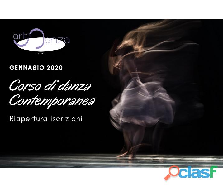 Corso di danza contemporanea intermedio/avanzato