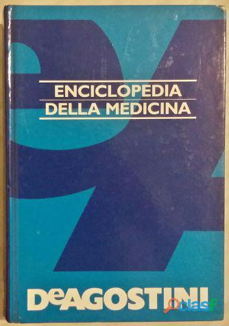 Enciclopedia della medicina ed.de agostini novara, 1995 come nuovo