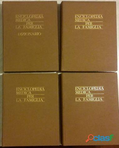 Enciclopedia medica per la famiglia in 4 volumi di Dr.F.Beer Poitevin Ed.Scienza e VIta,1975 come nu