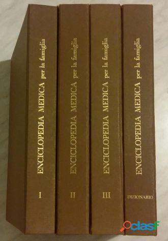 Enciclopedia medica per la famiglia in 4 volumi di Dr.F.Beer Poitevin Ed.Scienza e VIta,1975 come nu 1
