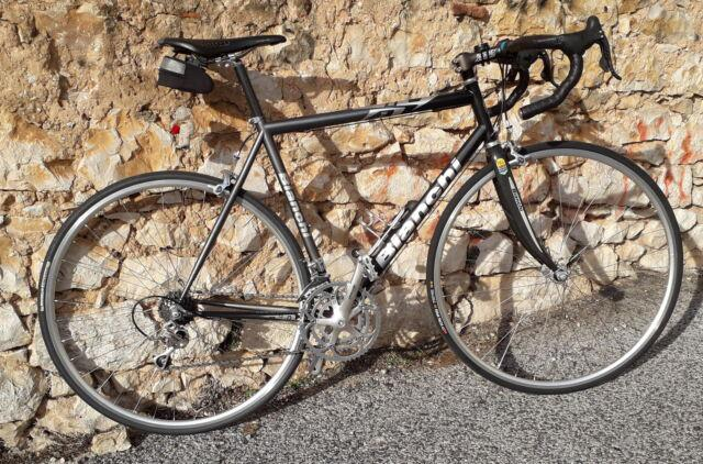 Bicicletta bianchi acciaio boron super leggera
