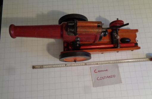 Cannone giocattolo in legno milano