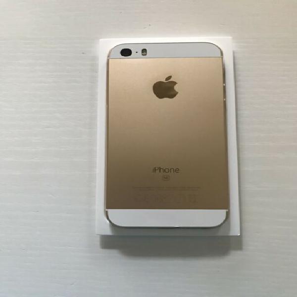 Iphone 5se, color oro