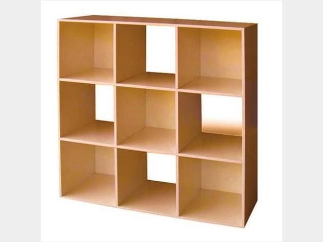 Libreria mod.cubo 9 cm.91x91h vari colori