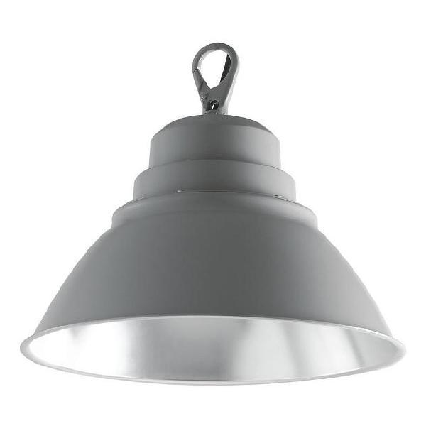 Lampada industriale alluminio led high bay 100 watt luce