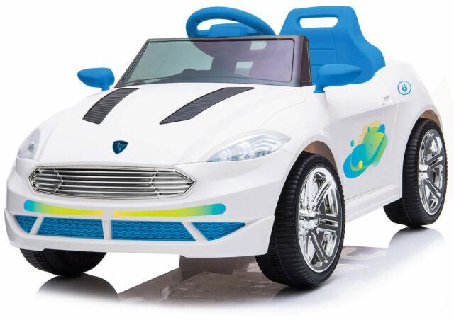 Macchina elettrica per bambini 12v miller e-city azzurra
