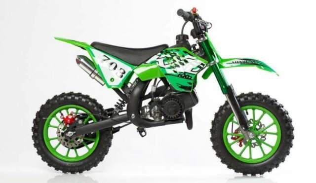 Minicross kxd 49cc 703 nuovo