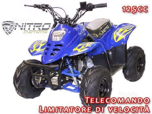 Miniquad big foot 125cc nuovo