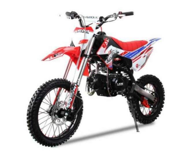 Pitbike 125cc sport 17/14 nuovi