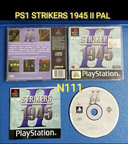 Ps1 strikers 1945 ii pal