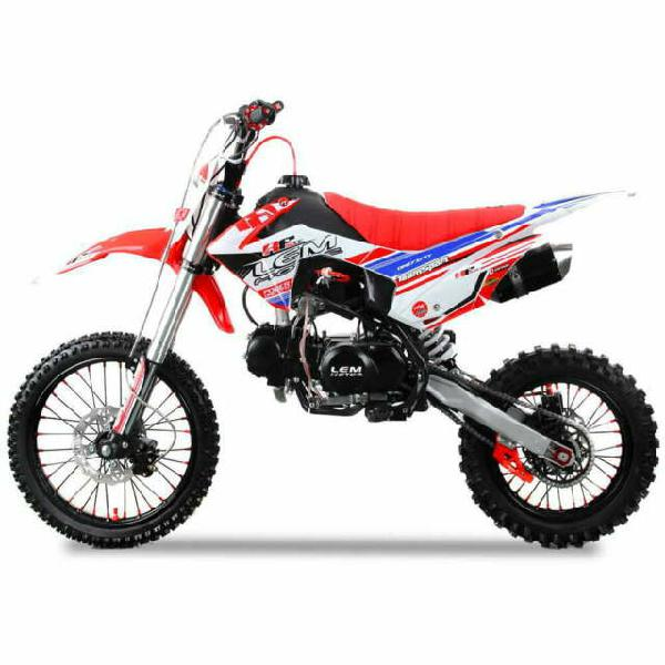 Pitbike rf sport motocicletta da motocross 125cc lem motor