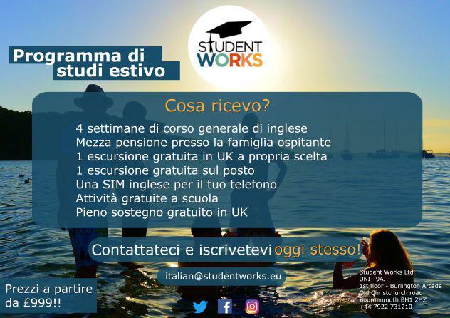Programma estivo di studio all'estero
