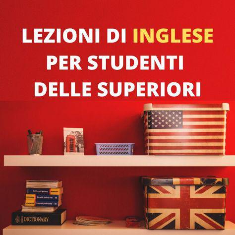 Ripetizioni inglese - scuole superiori