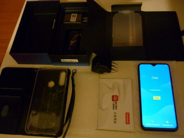 Smartphone nuovo dual sim lenovo z6 lite k10 note 4gb 64gb