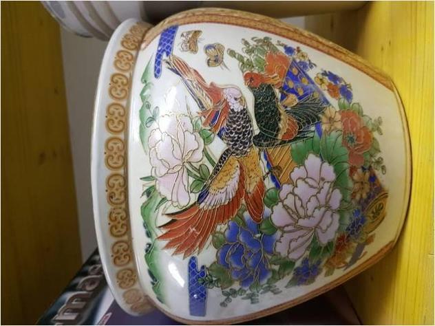 Vaso cinese decorato