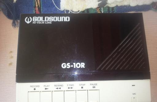 Vintage registratore goldsaund montesilvano