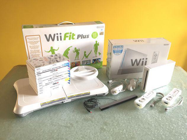 Wii + wii fit plus + 10 giochi