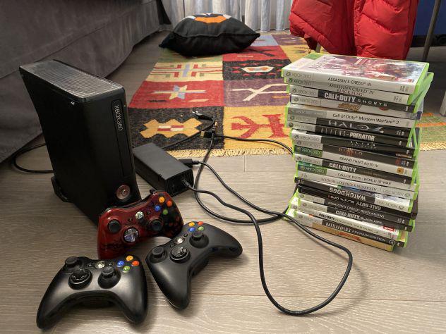 Xbox 360 con 19 giochi