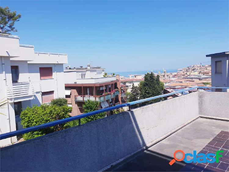 V002367 attico al quartiere adriatico