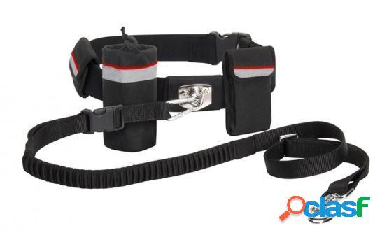 Camon walky belt & leash cintura ammortizzata con guinzaglio