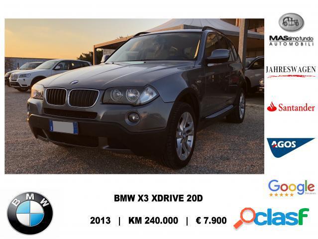 Bmw x3 diesel in vendita a melissano (lecce)