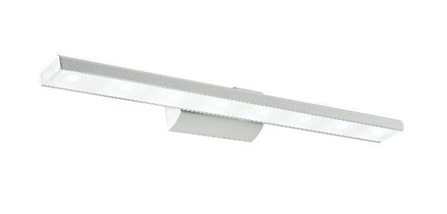 Applique Alluminio Bianco Diffusore Acrilico Lampada Bagno