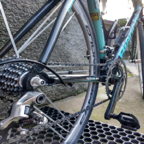 Bianchi bici corsa campagnolo carbonio