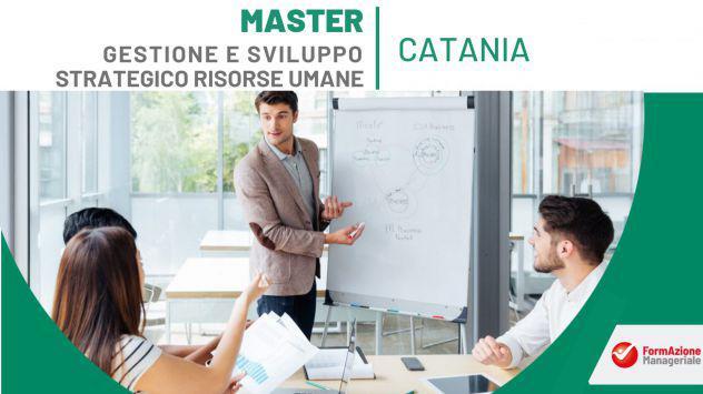 Master in gestione e sviluppo strategico delle risorse umane