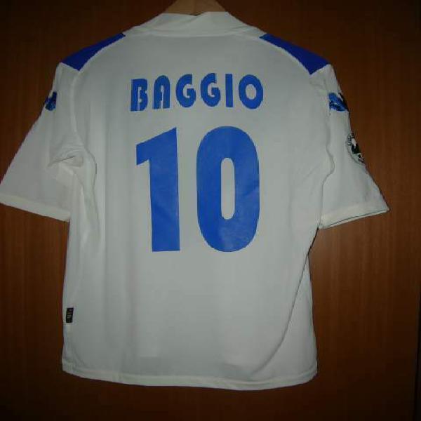 Maglia brescia roberto baggio #10 originale toppa lega