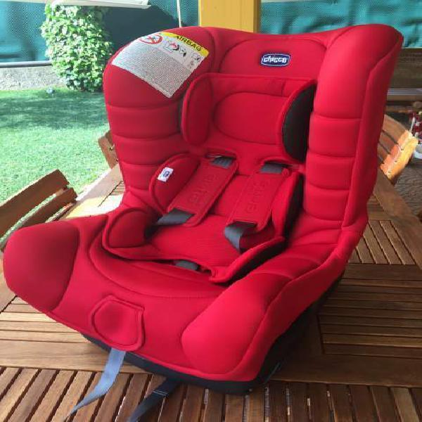 Seggiolino chicco auto eletta comfort rosso 0-18 kg