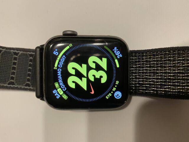 Smartwatch apple watch serie 4 44mm nike gps cellular