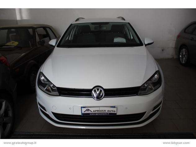 Volkswagen golf variant 1.6 tdi110cv business bmt