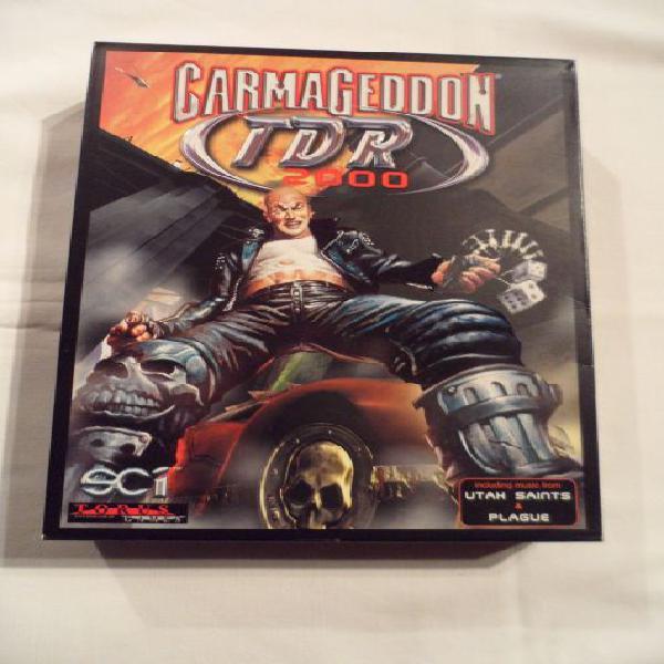 Carmageddon tdr 2000, gioco per pc, vintage per