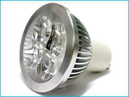 Faretto lampada led gu10 220v 4w