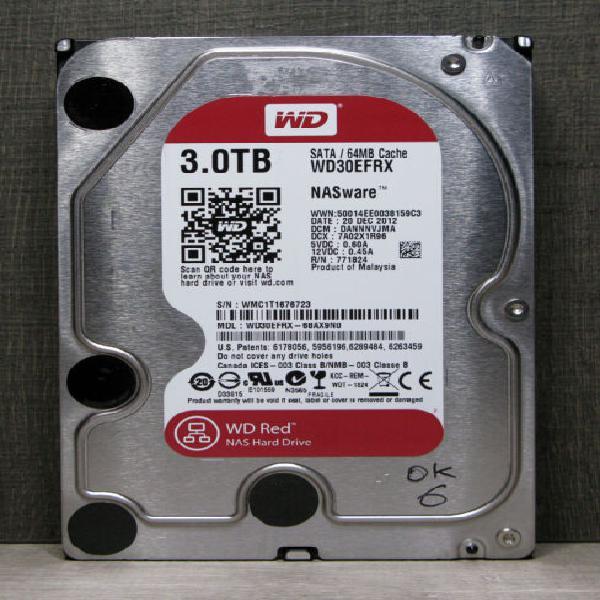 Hard disk western digital wd30efrx 3.0tb sata (1)