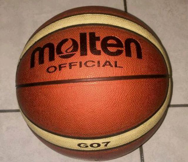 marrone Pallone da basket Molten BGL misura: 7
