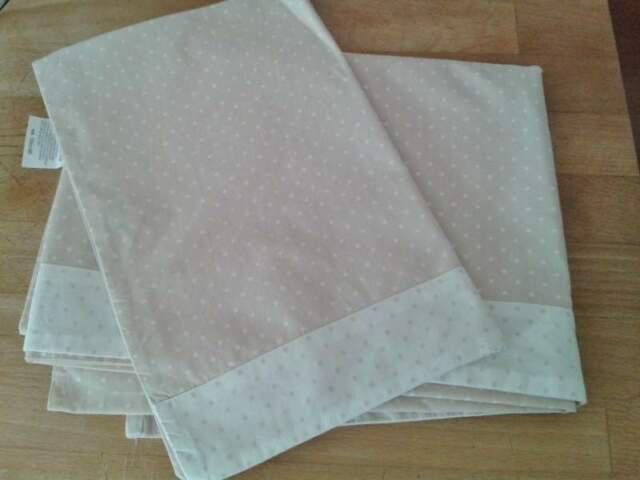 Parure lenzuola lettino prenatal 3 pezzi